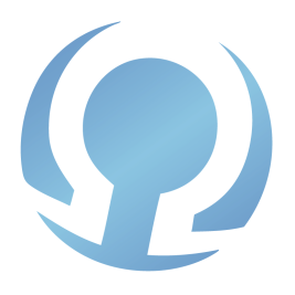 The Ohm Page Blue Main Logo